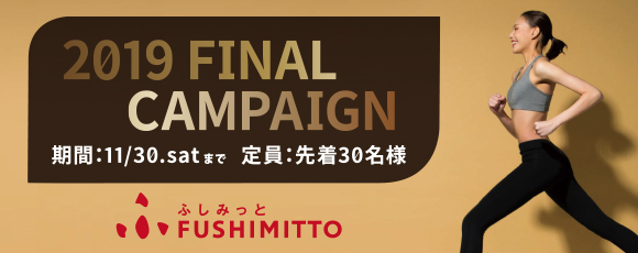 FUSHIMITTO「2019 FINAL CAMPAIGN!!」