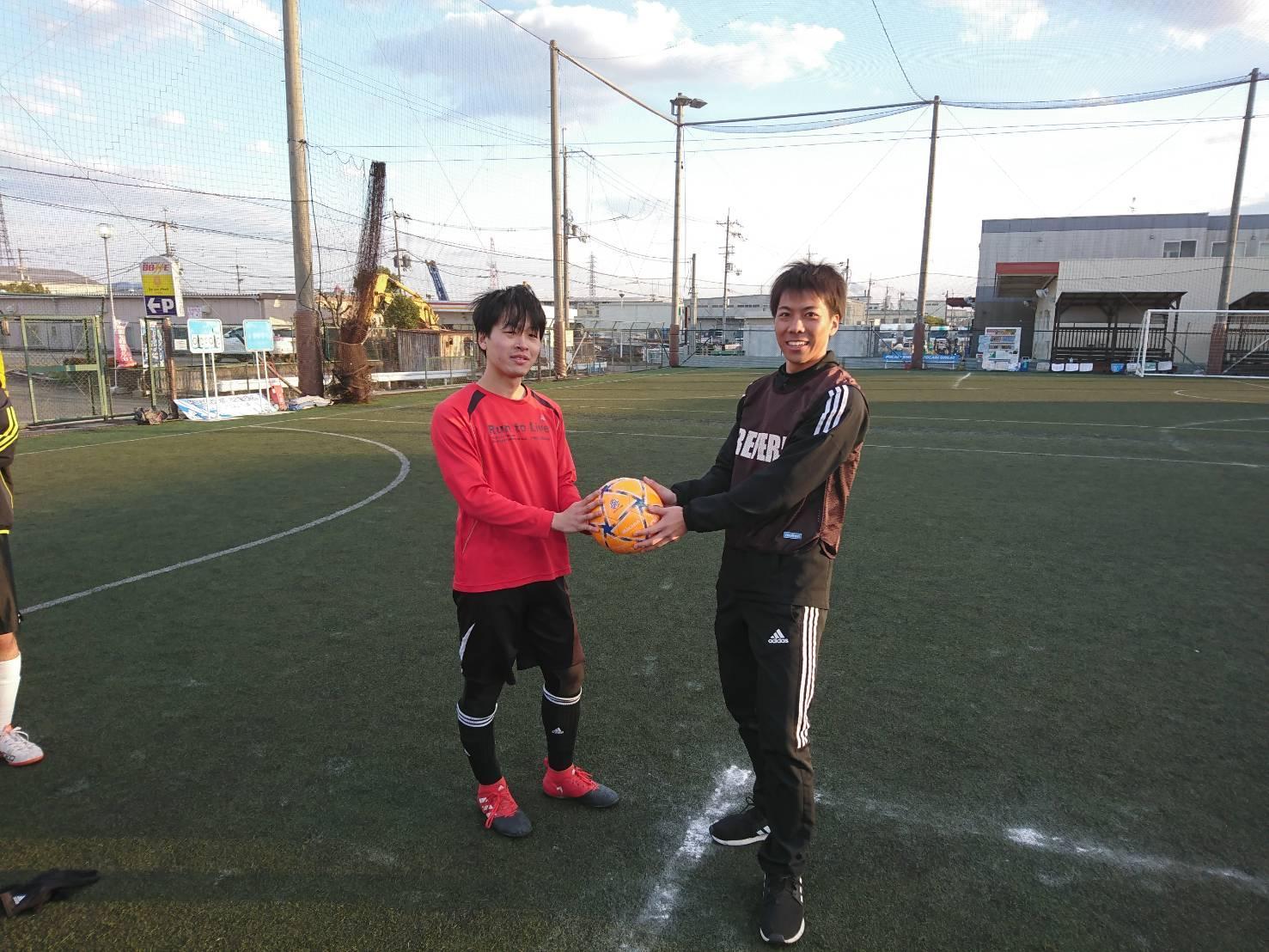フットサルスクエア大会リーグ結果2
