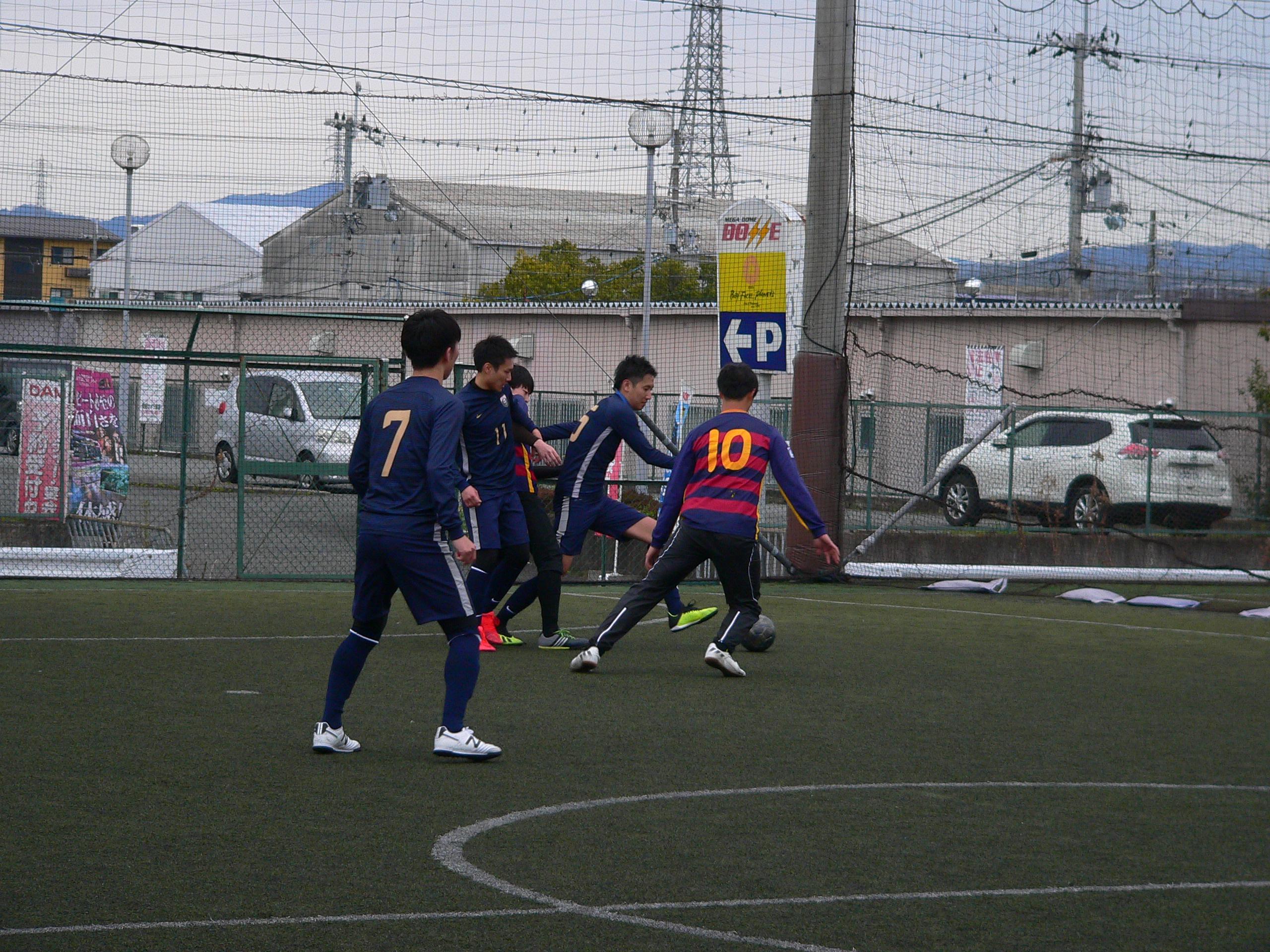 フットサルスクエア大会リーグ結果8