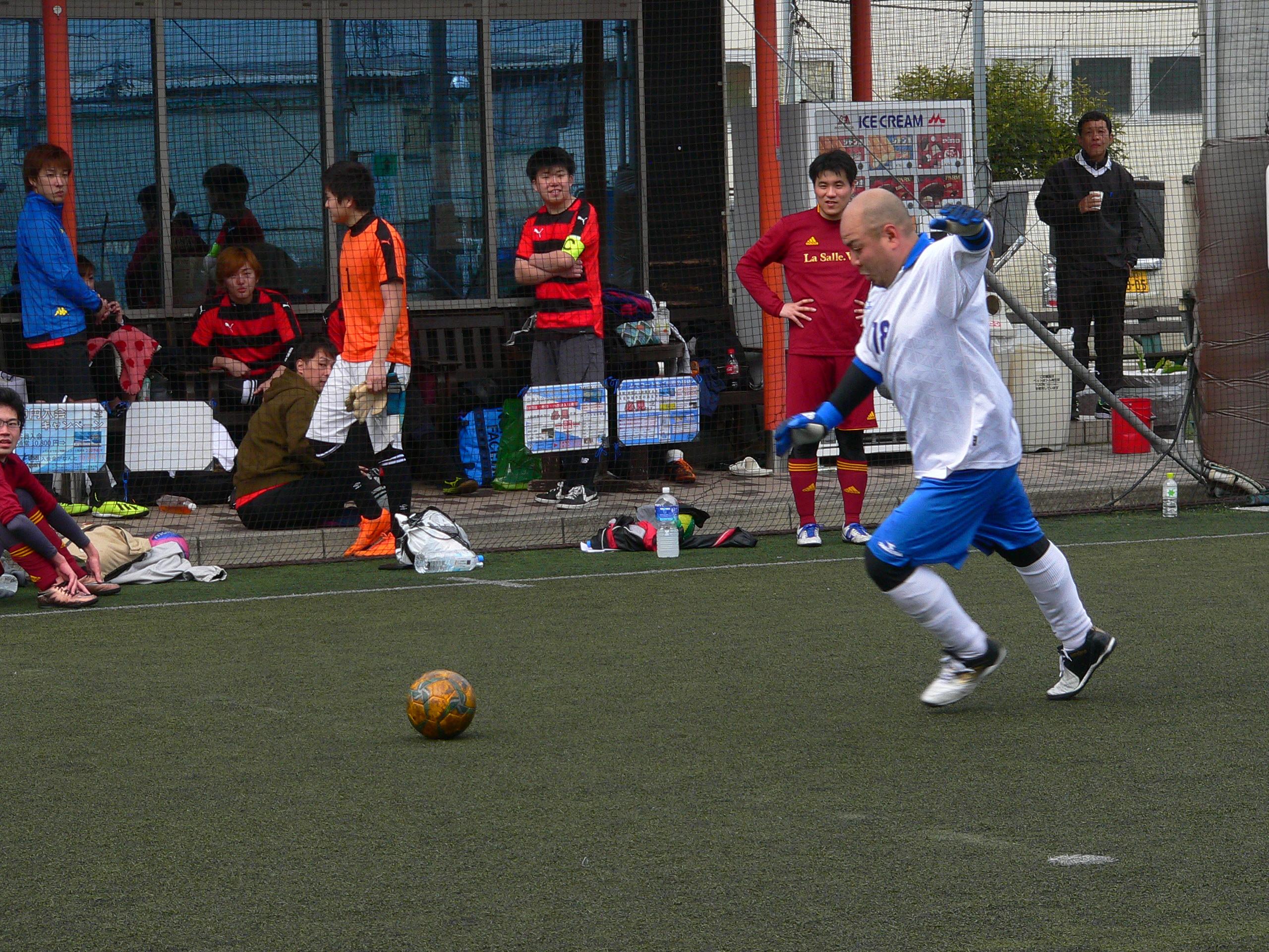 フットサルスクエア大会リーグ結果1